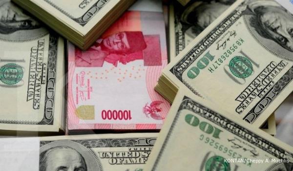rupiah terhadap dolar as