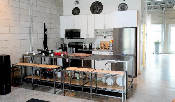 ruang dapur rapi
